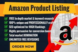 Portfolio for Amazon Product Listing