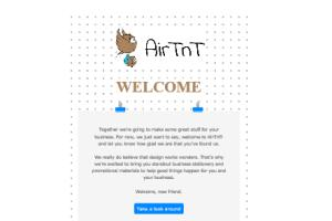 Portfolio for (Email Template)