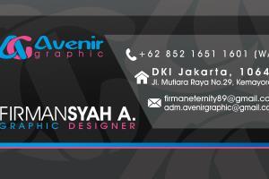 Portfolio for Avenir Graphic Design