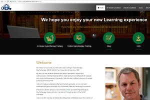 Portfolio for Online Learning WebSite development