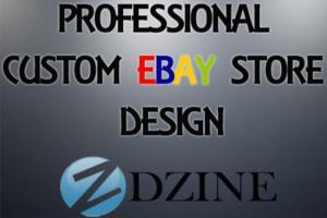 Portfolio for ebay shop design and listing template