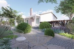 Portfolio for Landscape design with 3d render