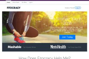Fitness Project - ruby on rails