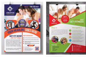 Portfolio for i will design brochure or flyer for you