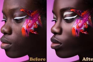 Portfolio for Professional retoucher and photo editing