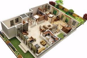 Portfolio for I Will Make A 3d Floor Plan Sketchup