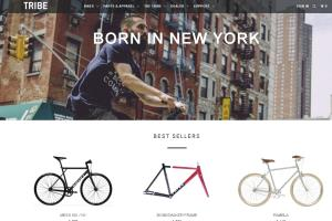 Portfolio for Bicycle shop (woocommerce web site)