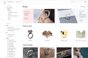 Portfolio for e-Commerce website