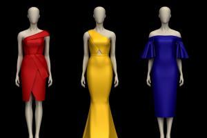 Portfolio for Fashion Designer & 3d Artist