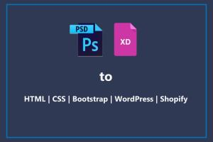 Portfolio for PSD to HTML/CSS | Bootstrap | WordPress