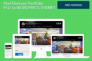 Portfolio for Wordpress development