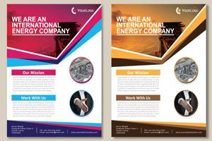 Portfolio for Brochures design