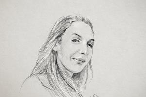Portfolio for Portrait photo and Pencil sketch by hand