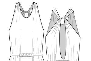 Portfolio for Fashion Technical Illustrator