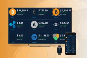 Crypto Currency Mobile App Design \u0026 Development
