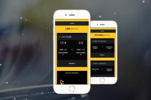 CrickApp Live Scoring Mobile App Development