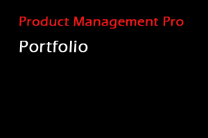 Portfolio for Product Management Services