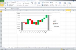 Portfolio for Excel Data Entry - Excel Charts & Graphs