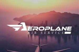 Portfolio for Aeroplane Air Service Logo