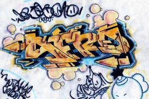Portfolio for Give lessons to draw graffitis very easy
