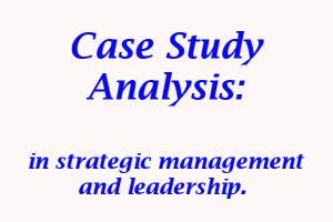 Portfolio for Case study analysis