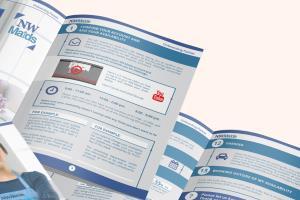 Portfolio for Graphic design, print, brochures, flyers