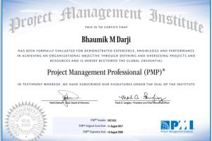 Portfolio for PMP Certified- Web Project Management