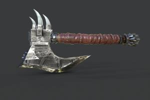 Portfolio for 3d modeling and texturing artist
