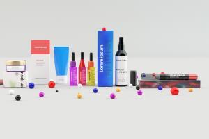 Portfolio for 3d cosmetic product for amazon etsy ebay