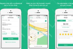 Taxi App (iOS/Android)