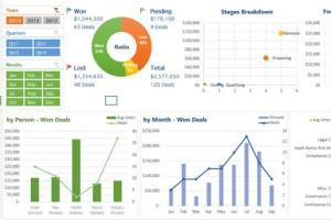 Portfolio for Excel Dashboards | Pivot Tables | Charts