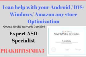 Portfolio for App Store Optimization ( ASO)