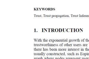 Portfolio for Research Writing - computing & IT