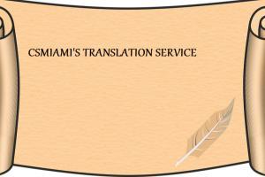 Portfolio for Spanish translator