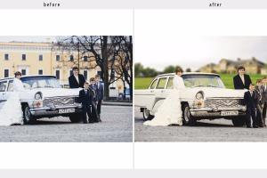 Portfolio for Background Replacement + Toning