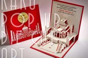 Portfolio for Pop Up Greeting Cards, Designer, Printer