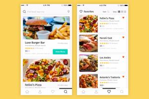 Food ordering app - iPhone/iPad