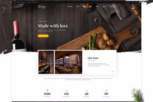 Restaurant ordering website - Angular