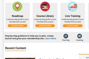 Portfolio for Educational websites / Sell courses