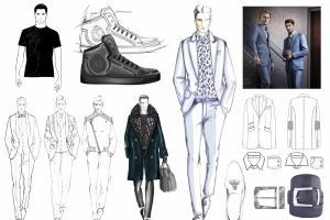 Portfolio for Fashion Desigh,Graphic Design