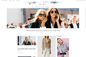 Favoloso WordPress Theme