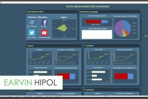 Portfolio for Excel Dashboard