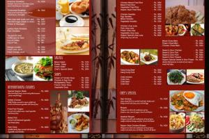 Portfolio for Menu Design
