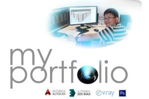 Portfolio for 3dmax modeller and a CAD operator