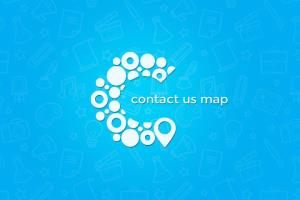 Contact us map (Web & Mobile app)