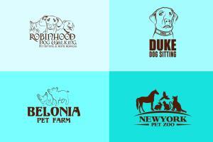Portfolio for I will design hand drawn animal logo