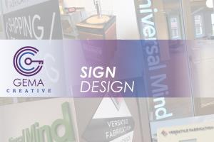 Portfolio for Sign Design