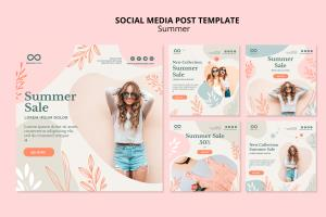 Portfolio for social media marketing post design