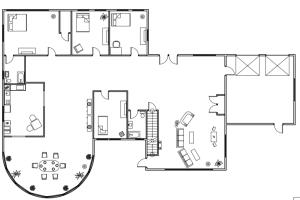Portfolio for Architectural Floor Plans(AutoCAD 2D/3D)