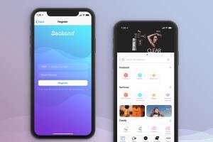 Portfolio for iOS and Android App UI/UX